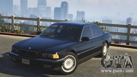 BMW 750i for GTA 5