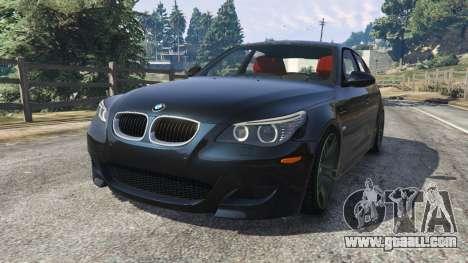 BMW M5 (E60) for GTA 5