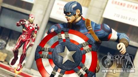 The Avengers in GTA 5