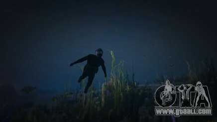 Under water GTA5