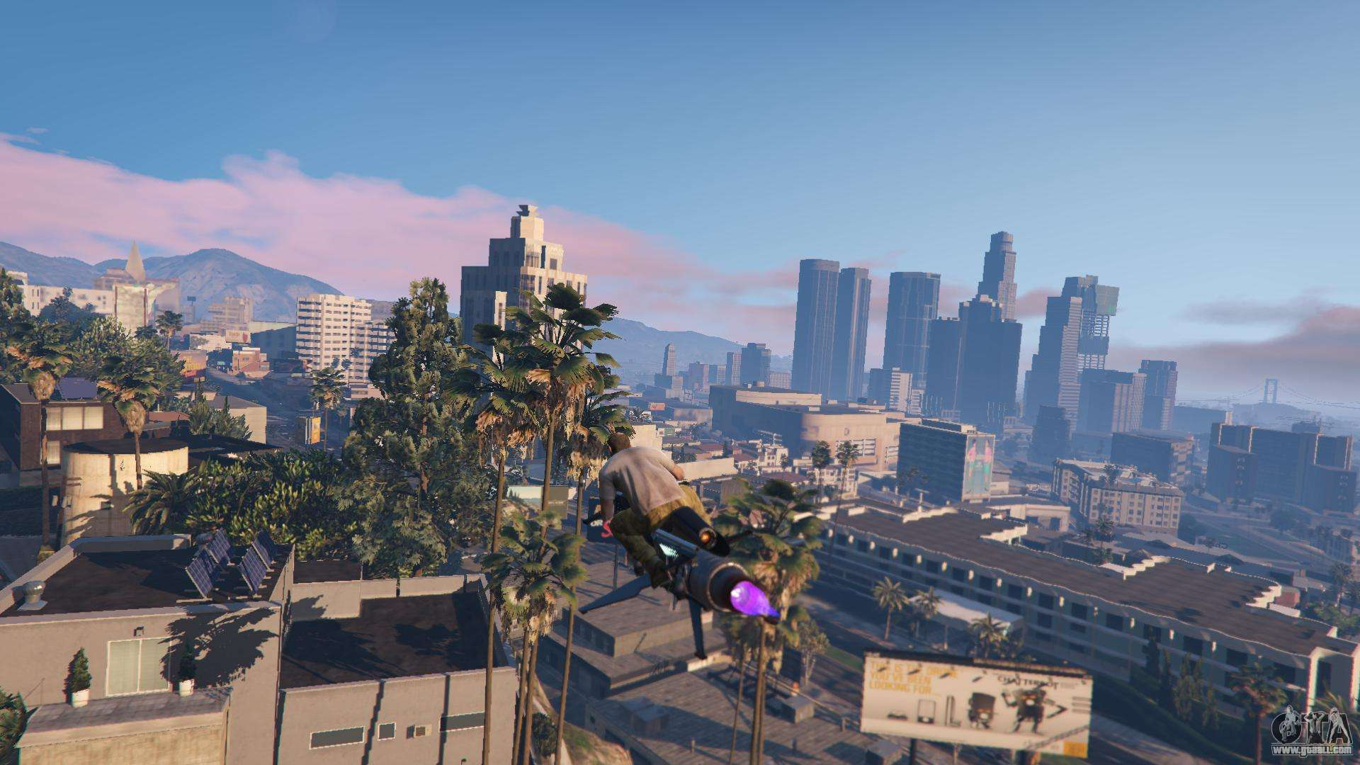 Ways to fly on a motorcycle in GTA 5 online