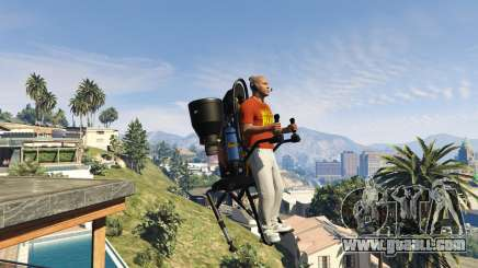 To sell the jetpack in GTA 5 online