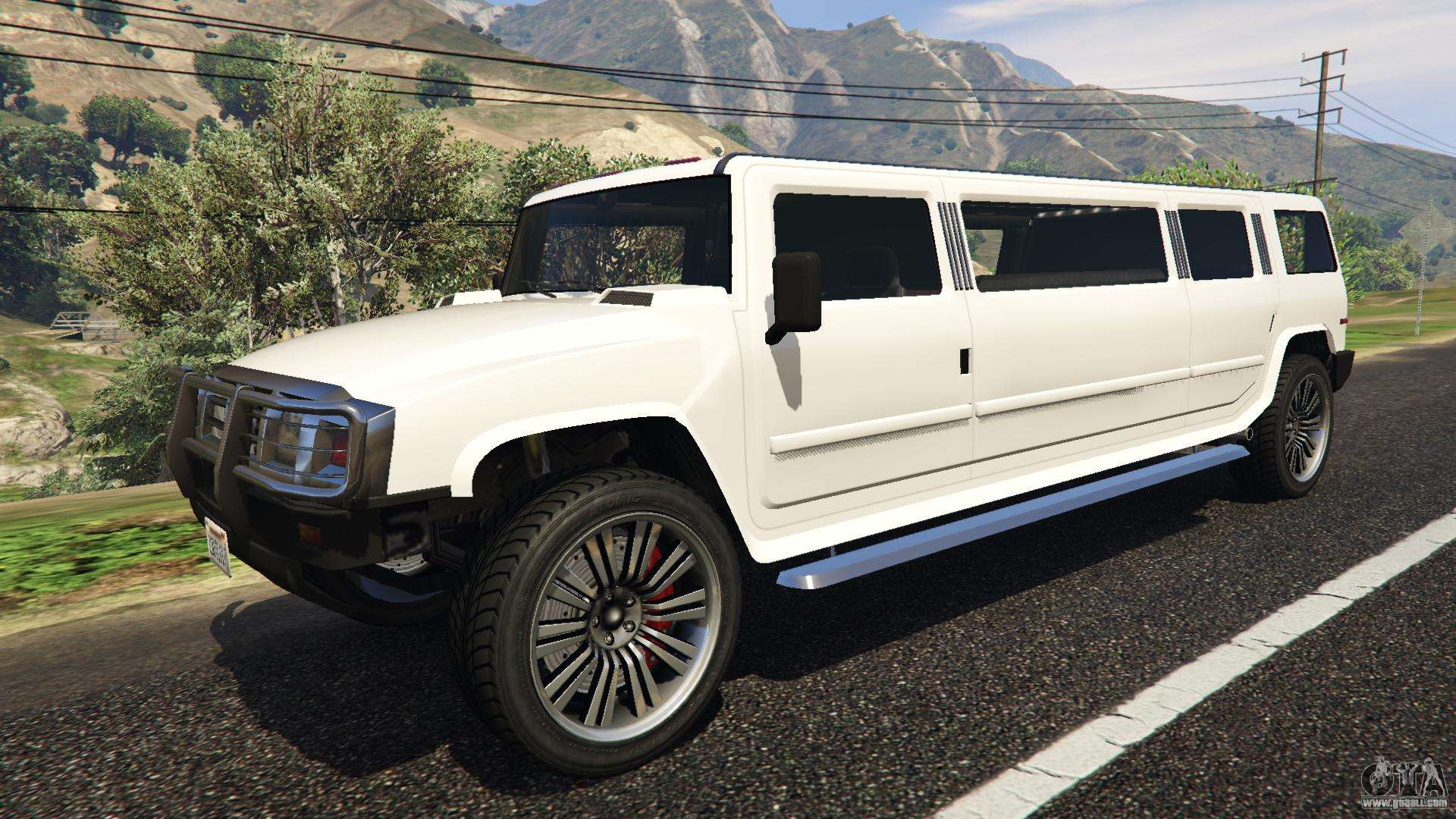 Mammoth Patriot Stretch GTA 5