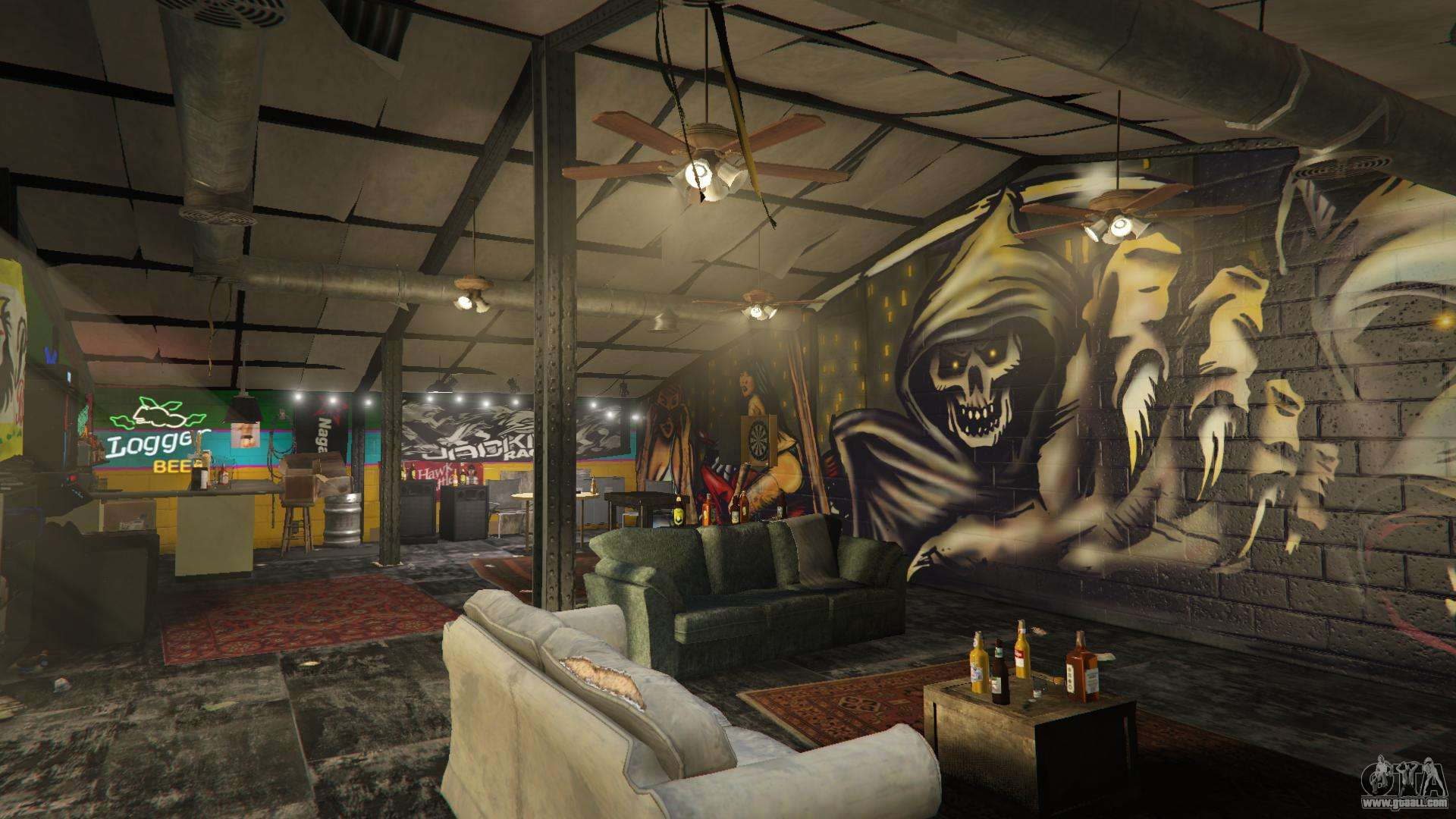 gta 5 online clubhouse president