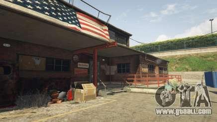 A motorcycle club in GTA 5