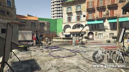 Film shooting in GTA 5