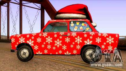 Christmas car for GTA San Andreas