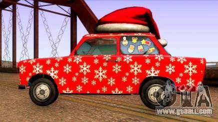 Christmas car for GTA San Andreas