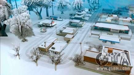 Winter mod for GTA San Andreas
