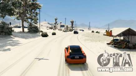 Snow mod for GTA 5