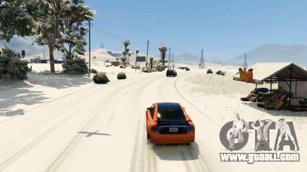Snow mod for GTA 5