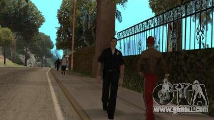 The police in GTA SA