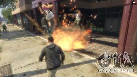 The bombing in GTA 5
