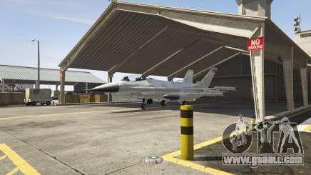 A military plane in GTA 5