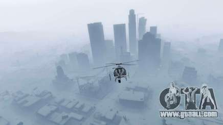 New year's city in GTA 5