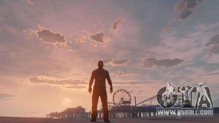 Beautiful shots in GTA 5