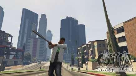 A baseball bat in GTA 5