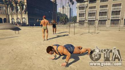 The muscles in GTA 5