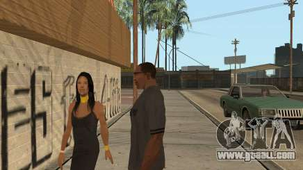 How to raise sexuality in GTA San Andreas