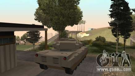How to steal a tank in GTA SA