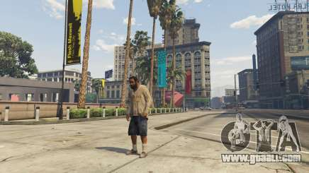 The character in GTA 5 Online