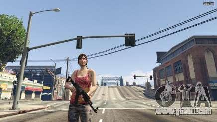 Girl in GTA 5