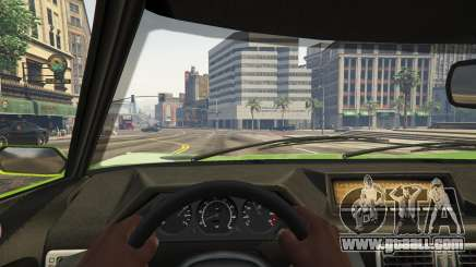Cockpit view in GTA 5