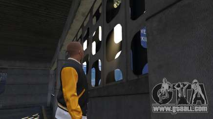 The passage walls in GTA 5