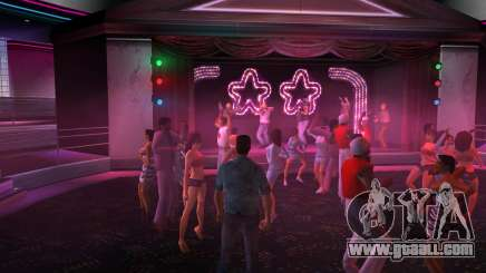 The music in the club GTA Vice City