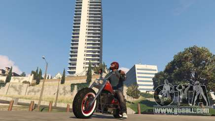 Motorcycle in GTA 5 Online