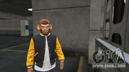 Monkey mask from GTA 5