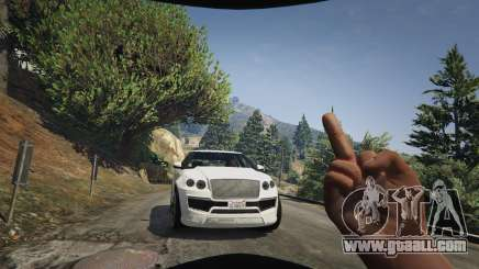 Middle finger in GTA 5