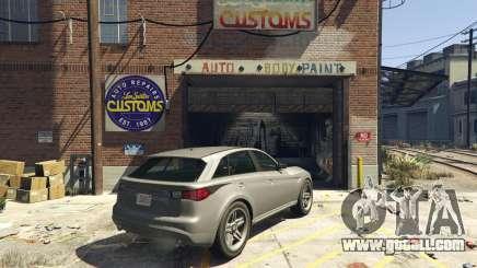 Selling cars in GTA 5