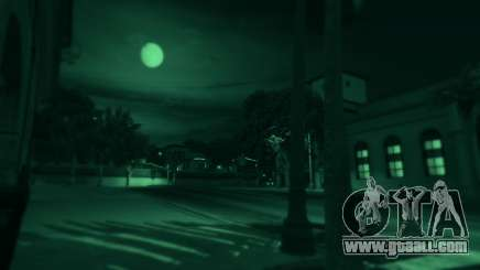 Night vision in GTA 5