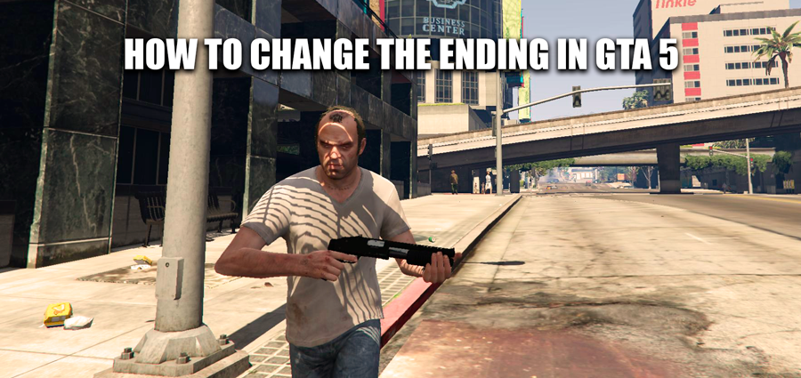 How to change the ending in GTA 5