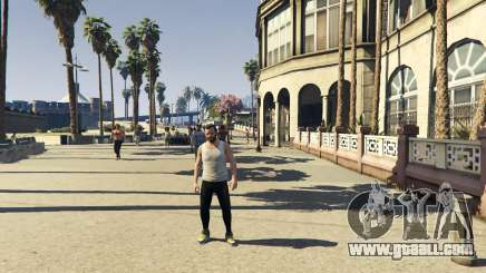 How to remove clothes in GTA 5