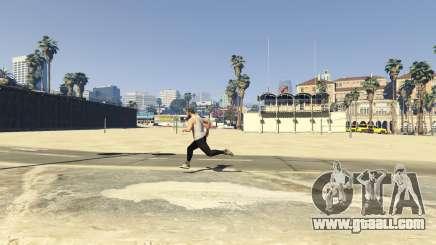 Remove the top clothes in GTA 5