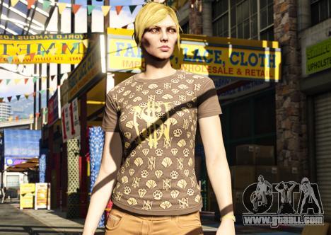 Free T-shirt in GTA Online