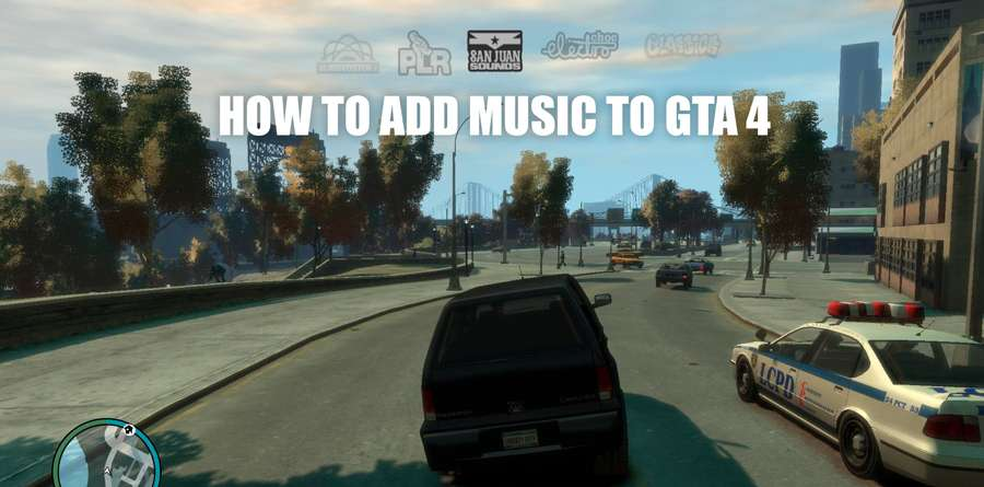 How to add music in GTA 5