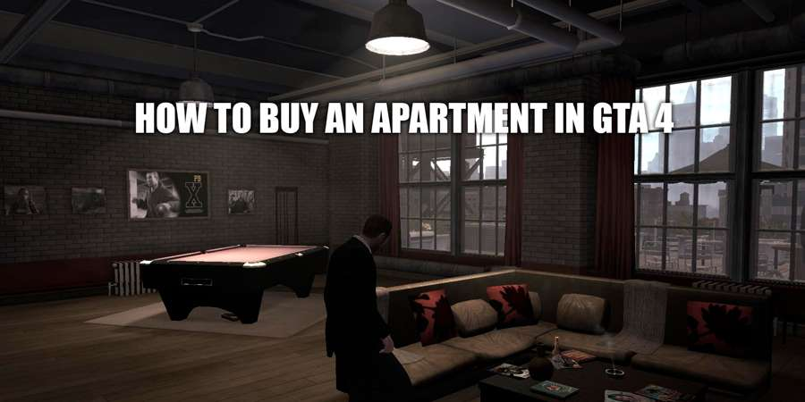 How to buy a house in GTA 4