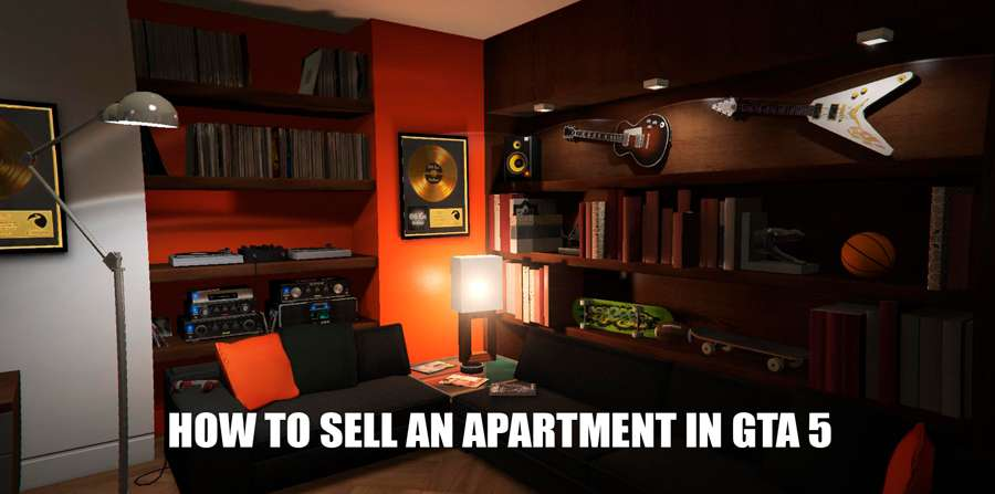 how to sell a apartment in gta 5 online