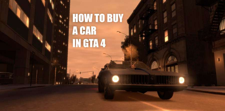 How to buy a car in GTA 4