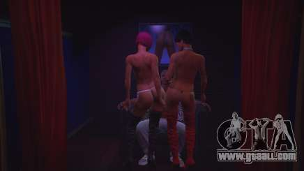 Strip club in GTA 5