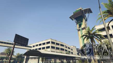The airport in GTA 5