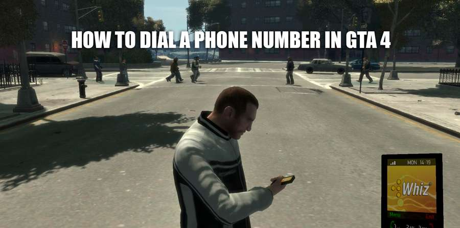 How to dial a phone number in GTA 4