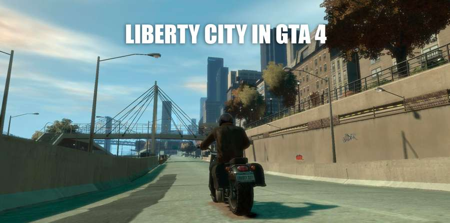 Liberty city in GTA 4