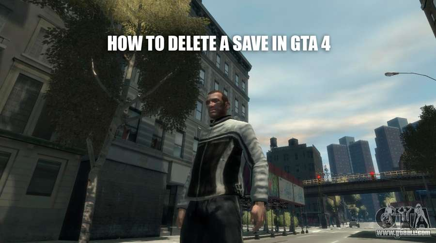 How to remove saving in GTA 4