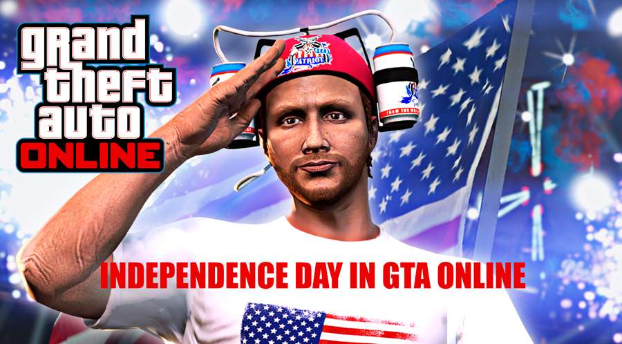 Independence day in GTA 5