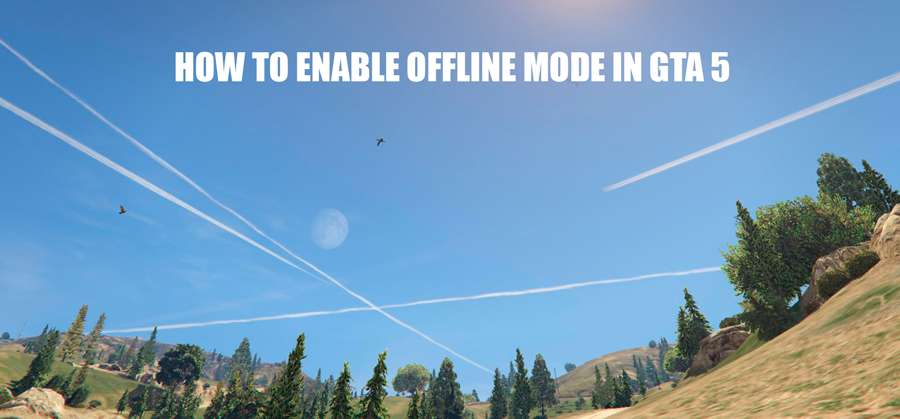How to enable offline mode in GTA 5