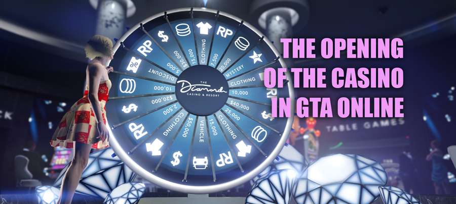 The opening of the casino in GTA Online